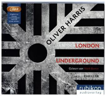 London Underground, 1 MP3-CD, Oliver Harris