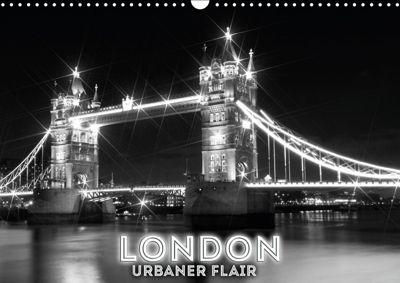 LONDON Urbaner Flair (Wandkalender 2019 DIN A3 quer), Melanie Viola