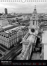 London view from St. Paul's Cathedral (Wall Calendar 2019 DIN A4 Portrait) - Produktdetailbild 12