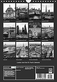 London view from St. Paul's Cathedral (Wall Calendar 2019 DIN A4 Portrait) - Produktdetailbild 13