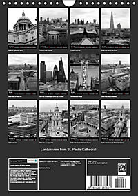 London view from St. Paul's Cathedral (Wall Calendar 2019 DIN A4 Portrait) - Produktdetailbild 13