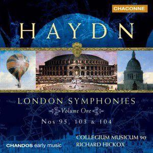 Londoner Sinfonien Vol. 1, Richard Hickox, Collegium Musicum 90