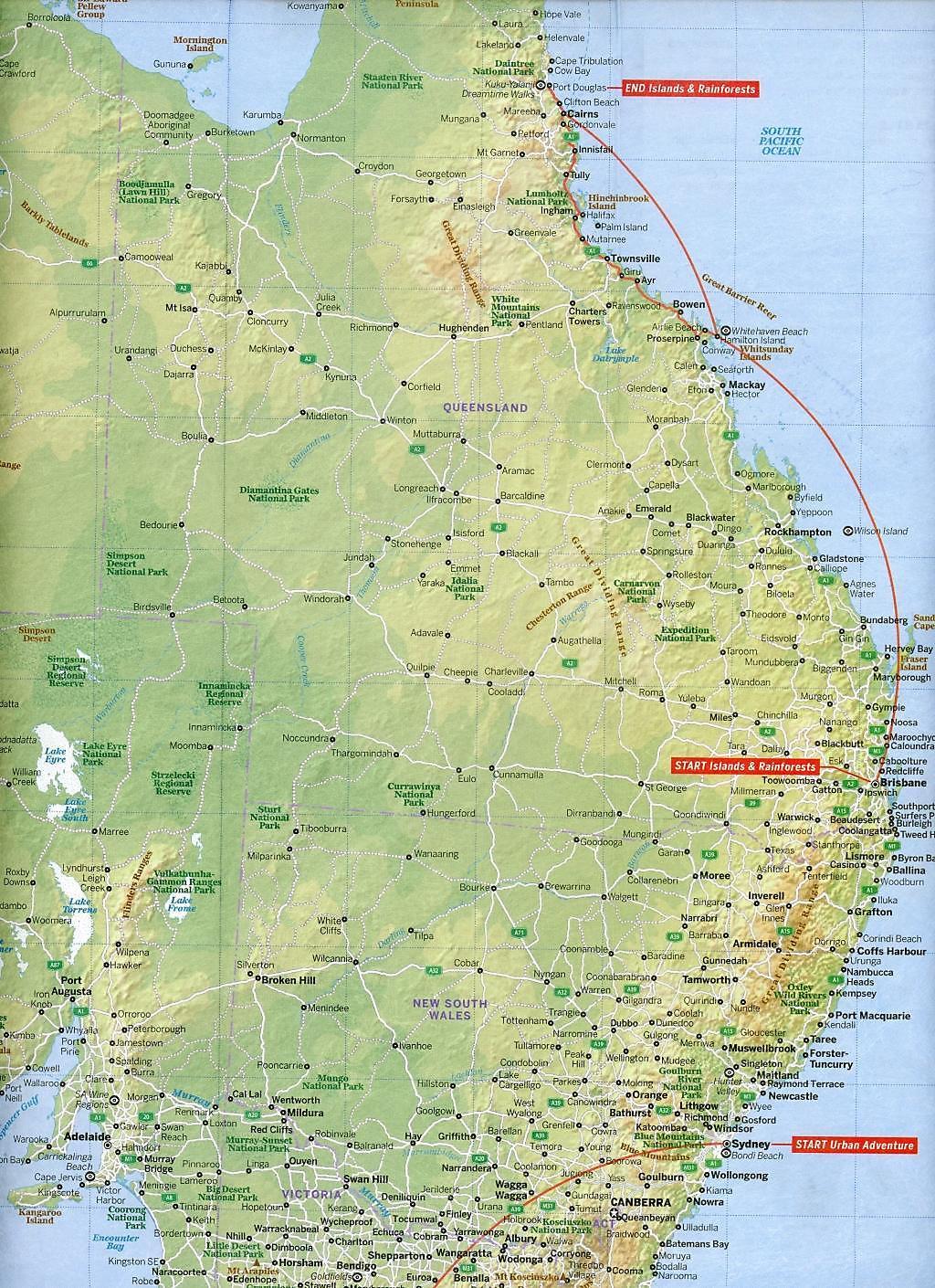 Lonely Planet Australia Planning Map Buch bestellen - Weltbild.de