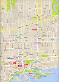 Lonely Planet City Map Montreal - Produktdetailbild 1