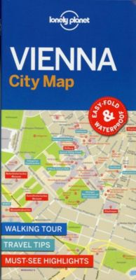 Lonely Planet City Map Vienna, Planet Lonely