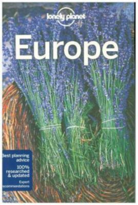 Lonely Planet Europe Guide, Planet Lonely