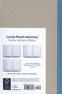 Lonely Planet Large Notebook - Polar Bear - Produktdetailbild 1