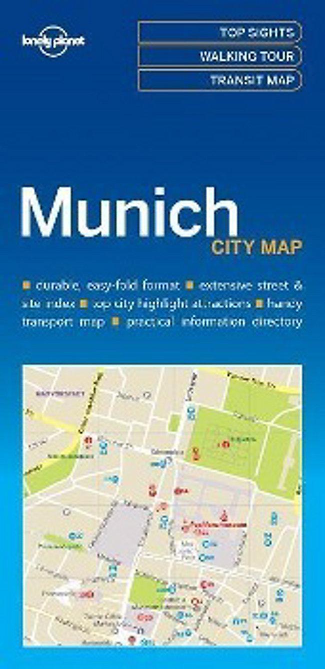 Lonely Planet Munich City Map Buch bei Weltbild.at bestellen