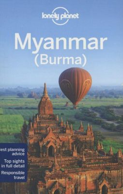 Lonely Planet Myanmar (Burma), English edition, Simon Richmond