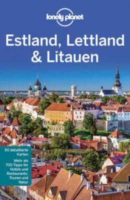 Lonely Planet Reiseführer Estland, Lettland, Litauen, Peter Dragicevich, Hugh McNaughtan, Leonid Ragozin