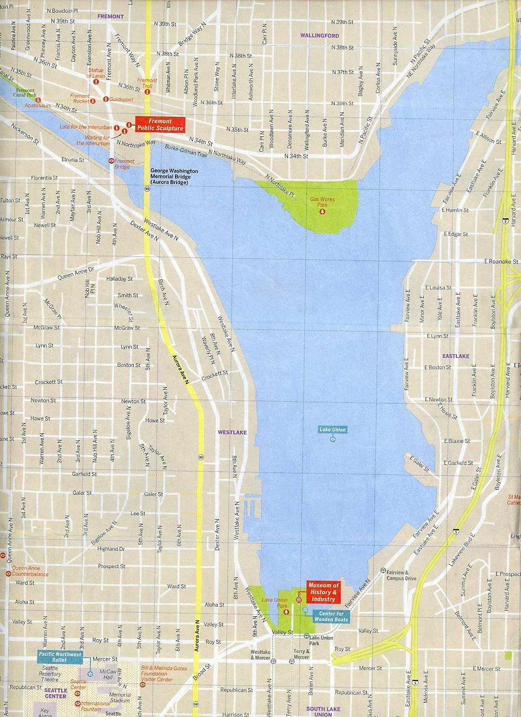 Lonely Planet Seattle City Map Buch bei Weltbild.de bestellen
