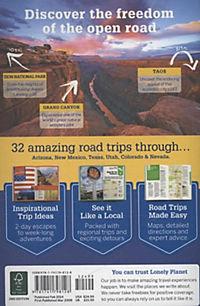 Lonely Planet Southwest USA's Best Trips - Produktdetailbild 1
