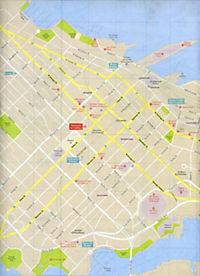 Lonely Planet Vancouver City Map - Produktdetailbild 1