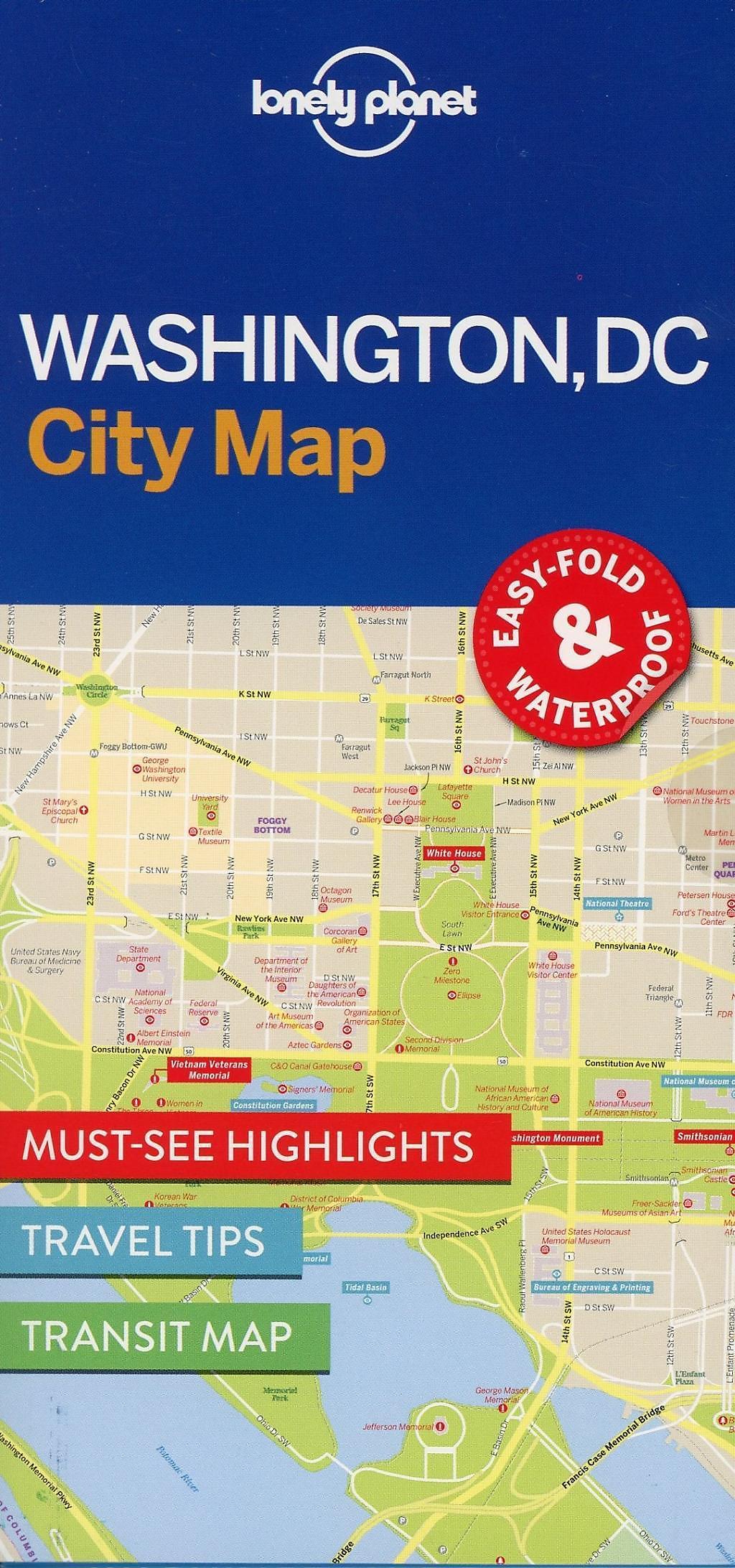Lonely Planet Washington DC City Map Buch bestellen - Weltbild.de