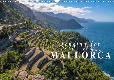 Longing for Mallorca (Wall Calendar 2019 DIN A3 Landscape), Christian Mueringer
