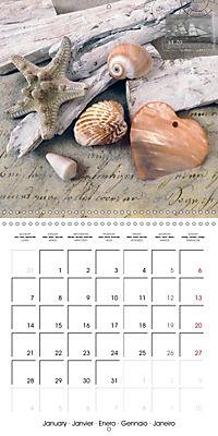 Longing for the sea (Wall Calendar 2019 300 × 300 mm Square) - Produktdetailbild 1
