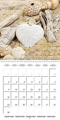 Longing for the sea (Wall Calendar 2019 300 × 300 mm Square) - Produktdetailbild 9
