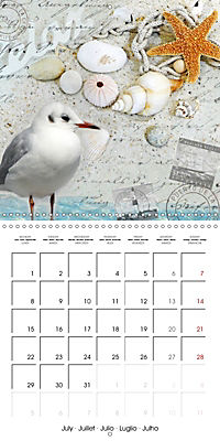Longing for the sea (Wall Calendar 2019 300 × 300 mm Square) - Produktdetailbild 7