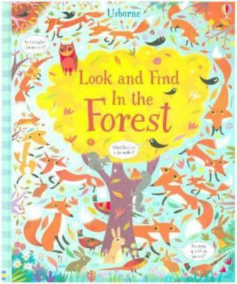 Look and Find in the Forest, Kirsteen Robson, Gareth Lucas