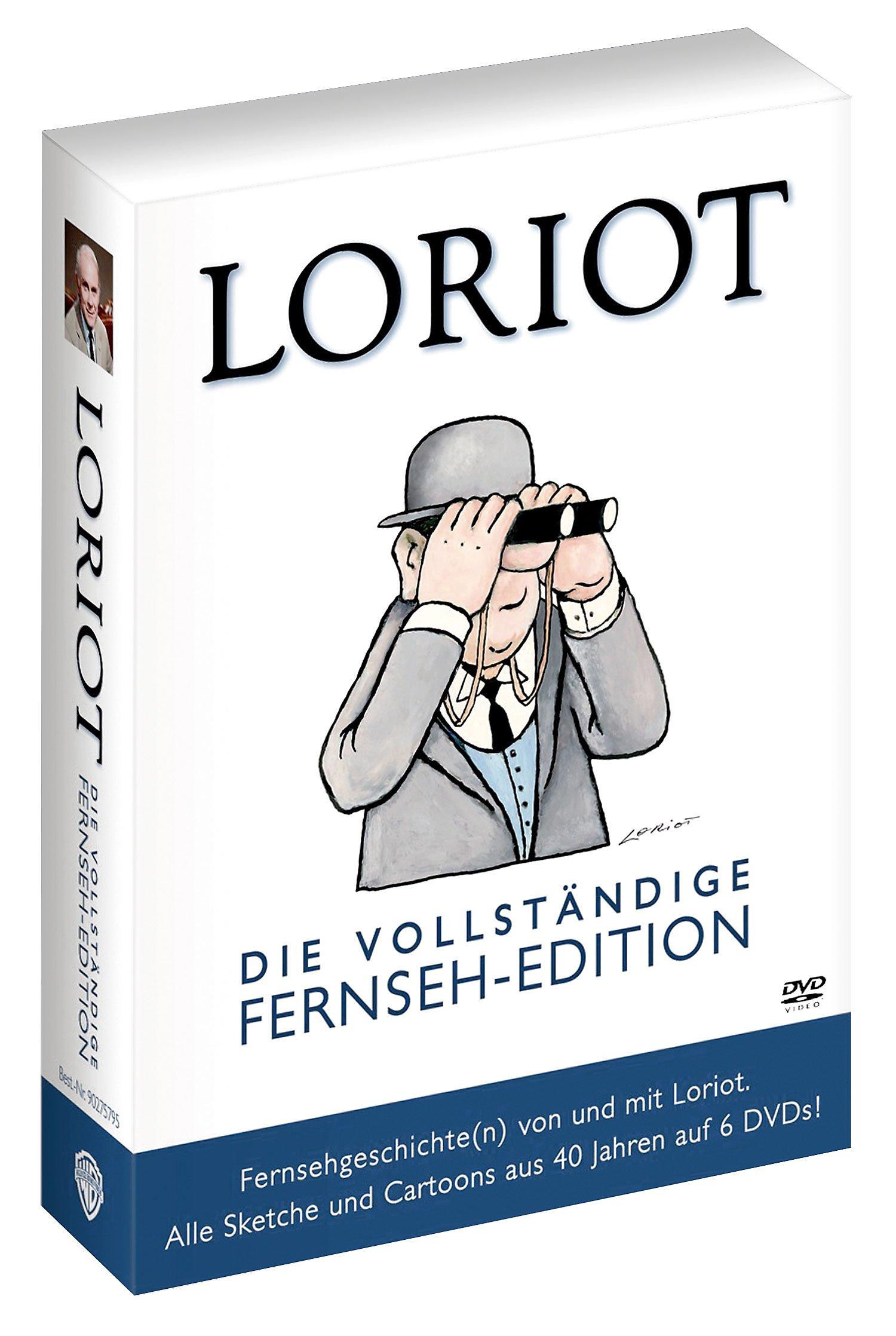 Loriot Die Vollständige Fernseh Edition Dvd Weltbildde