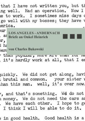 Los Angeles - Andernach - Charles Bukowski |