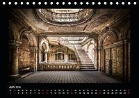 Lost Places - verlassene Orte vergangener Glanz (Tischkalender 2019 DIN A5 quer) - Produktdetailbild 6