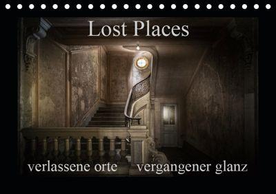 Lost Places - verlassene Orte vergangener Glanz (Tischkalender 2019 DIN A5 quer), Oliver Jerneizig