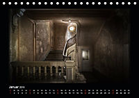 Lost Places - verlassene Orte vergangener Glanz (Tischkalender 2019 DIN A5 quer) - Produktdetailbild 1