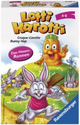 Lotti Karotti, Das Hasenrennen (Kinderspiel)