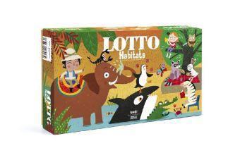 Lotto - Habitats (Kinderspiel)