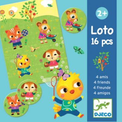 Lotto Memo 4 Freunde