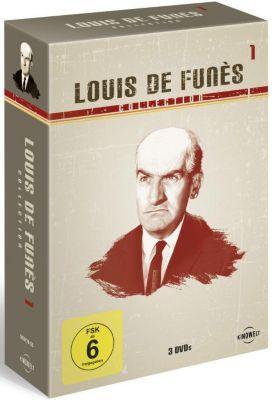 Louis de Funes Collection 1, Gérard Oury, Danièle Thompson, Marcel Jullian, Georges Tabet, André Tabet, Jean Girault, Jacques Vilfrid
