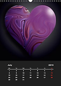 Lovely Hearts/UK Version (Wall Calendar 2019 DIN A3 Portrait) - Produktdetailbild 7