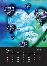 Lovely Hearts/UK Version (Wall Calendar 2019 DIN A3 Portrait) - Produktdetailbild 8