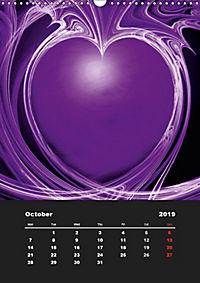 Lovely Hearts/UK Version (Wall Calendar 2019 DIN A3 Portrait) - Produktdetailbild 10