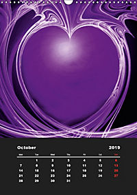 Lovely Hearts/UK Version (Wall Calendar 2019 DIN A3 Portrait) - Produktdetailbild 10