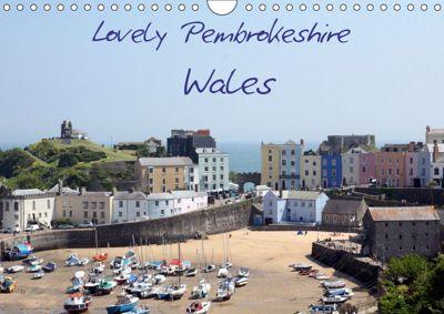 Lovely Pembrokeshire, Wales (Wall Calendar 2019 DIN A4 Landscape), Natascha Valder