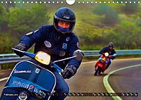 Low-angle shots of scooters (Wall Calendar 2019 DIN A4 Landscape) - Produktdetailbild 2