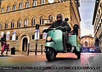 Low-angle shots of scooters (Wall Calendar 2019 DIN A4 Landscape) - Produktdetailbild 1