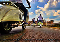 Low-angle shots of scooters (Wall Calendar 2019 DIN A4 Landscape) - Produktdetailbild 6
