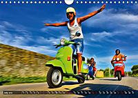 Low-angle shots of scooters (Wall Calendar 2019 DIN A4 Landscape) - Produktdetailbild 7