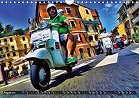 Low-angle shots of scooters (Wall Calendar 2019 DIN A4 Landscape) - Produktdetailbild 8