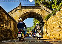 Low-angle shots of scooters (Wall Calendar 2019 DIN A4 Landscape) - Produktdetailbild 12