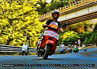 Low-angle shots of scooters (Wall Calendar 2019 DIN A4 Landscape) - Produktdetailbild 11