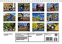 Low-angle shots of scooters (Wall Calendar 2019 DIN A4 Landscape) - Produktdetailbild 13