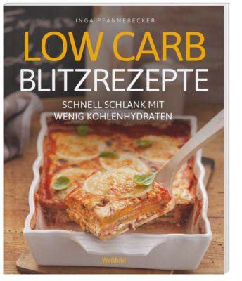 Low Carb Blitzrezepte, Inga Pfannebecker