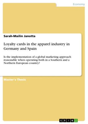 Loyalty cards in the apparel industry in Germany and Spain, Sarah-Mailin Janotta