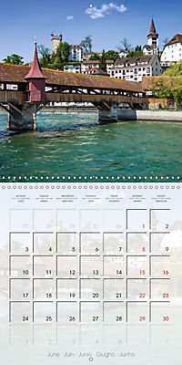 LUCERNE Lovely Switzerland (Wall Calendar 2019 300 × 300 mm Square) - Produktdetailbild 6