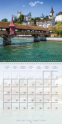 LUCERNE Lovely Switzerland (Wall Calendar 2019 300 × 300 mm Square) - Produktdetailbild 6