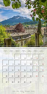 LUCERNE Lovely Switzerland (Wall Calendar 2019 300 × 300 mm Square) - Produktdetailbild 5